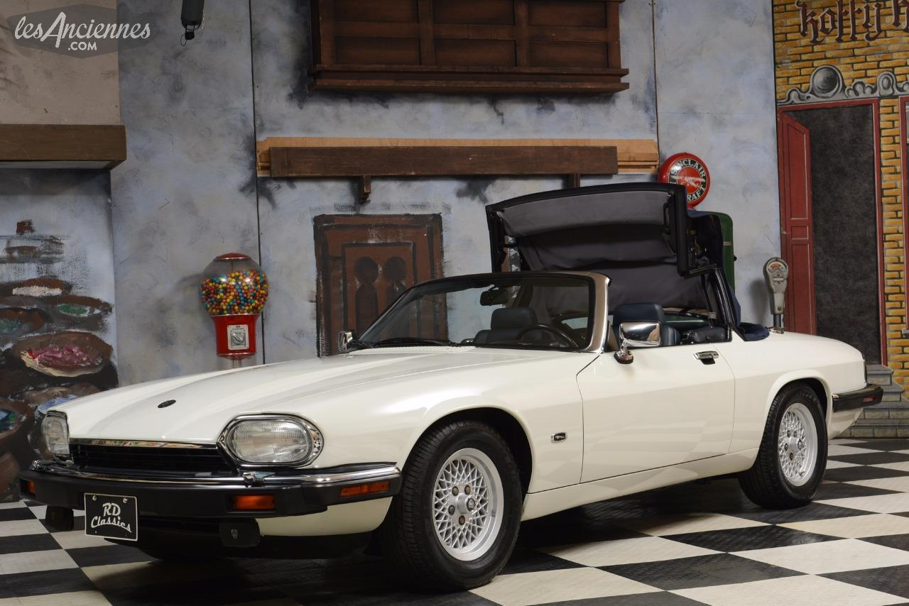 jaguar xjs convertible 1992 ventes auto les annonces les anciennes com anciennes net. Black Bedroom Furniture Sets. Home Design Ideas